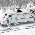 НКЛ-26 Радянський 2МВ Аеросанками - моделей Туз 72515