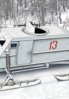 NKL-26 Soviético WW2 Aerosan - Ás Modelos 72515