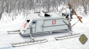 NKL-26 Neuvostoliiton WW2 Aerosan - Ace Mallit 72515