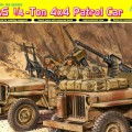 SAS 1/4-Ton 4x4 Patrull Bil - DML-6745