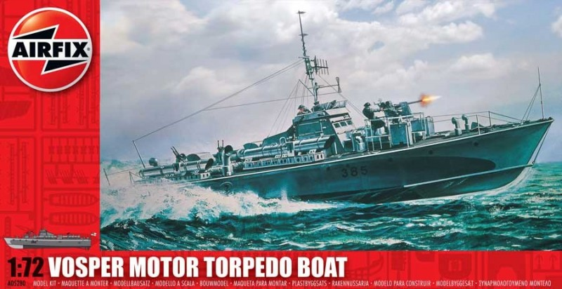 Vosper Motor Torpedo Boat - Airfix A05280
