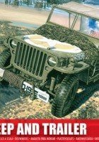 Willys Jeep e Engate - Airfix A01322
