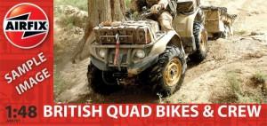 Британские квадроциклы и экипаж-Airfix A04701