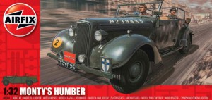 Monty's Humber Snipe Staff Car - Airfix A05360