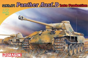 Panther Ausf.D la Fin de la Production - DML 7506