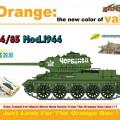 T-34/85 Mod.1944 - Cyber-Hobi 9146
