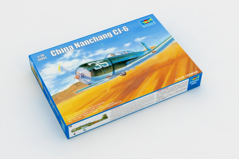 China Nanchang CJ-6 - Trompetista 02887