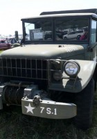 Додж М37 грузовой 4х4 - прогулка вокруг