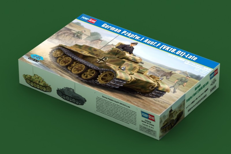 Nemecký Pzkpfw.Som Ausf.F (VK18.01)- Neskoro - HOBBY BOSS 83805