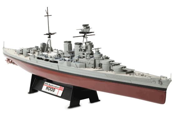 HMS 전투 순양함의 후드-력 용기의 86002