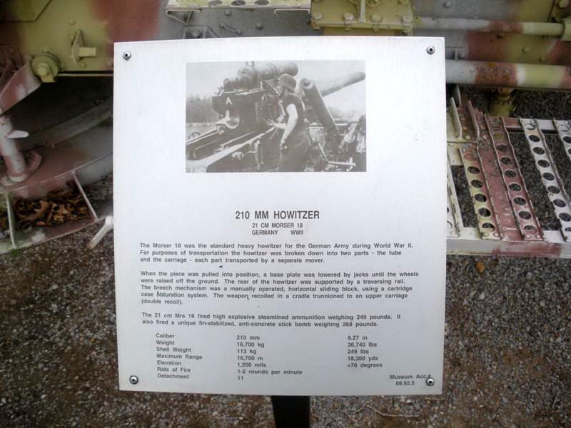 21cm Morser 18 Howitzer - Walk Around