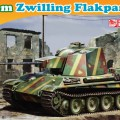 5.5cm●パッケージサイズZwilling対空戦車-DML7488
