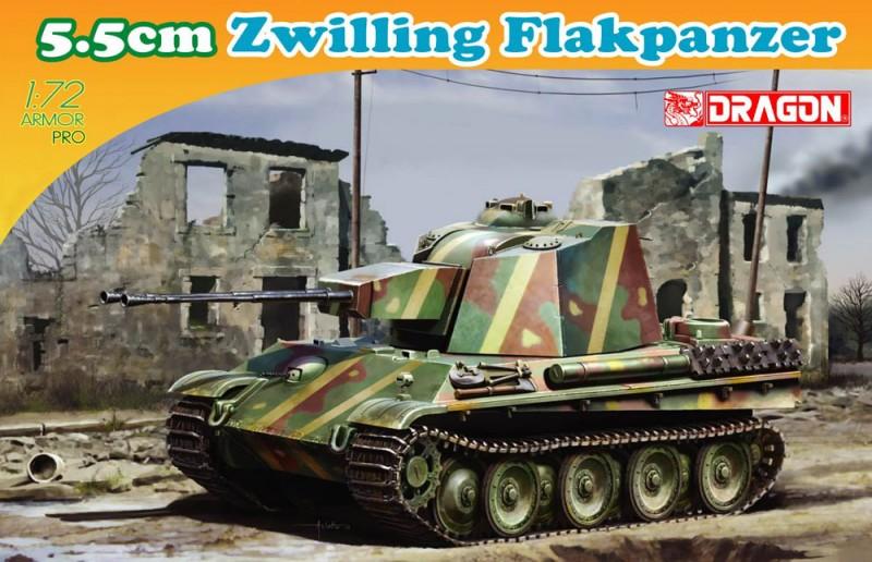 5,5 cm Zwilling Flakpanzer - DML 7488