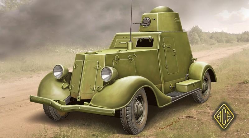 Ba-20 (pozdní výrobní série/kuželová věž) - Ace Modely 48109