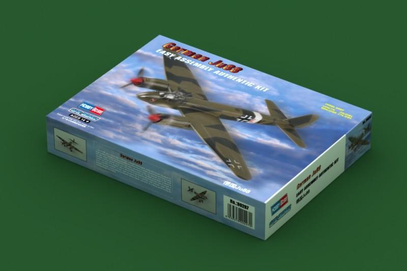 Vokietijos Ju88 - HOBBY BOSS 80297