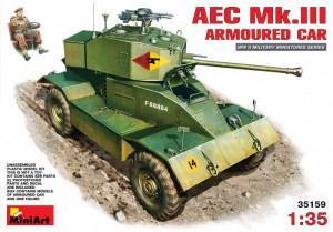 AEC Mk.III Blindé - MiniArt 35159