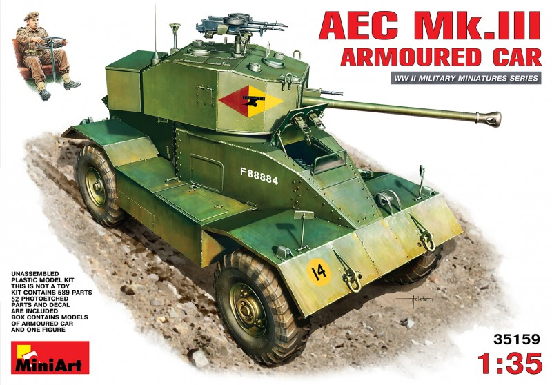 AEC Mk.III Armoured Car - MiniArt 35159