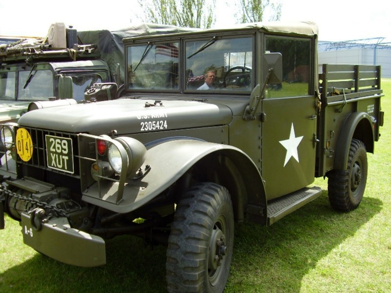 Dodge M37B1 - Прогулка вокруг