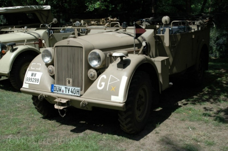 Horch 901 Type Efm Mittl. Einheits Pkw Kfz.15 - Walk Around