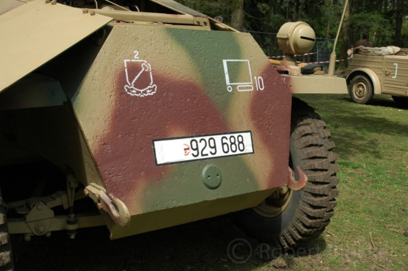 SdKfz 251 Ausf D - Walk Around