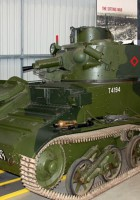 Vickers Mk VIb - Chodiť