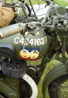 М20 BSA мотоциклет - мобилна