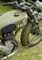 Norton (WD)16H Motociklas - išorinis sukamaisiais apžiūra