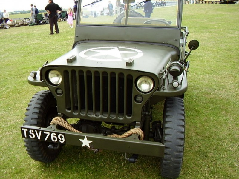 Willys MB Jeep vol3 - Gå Rundt