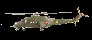 Mi-24V Soviética Helicóptero de Ataque - Zvezda 7403