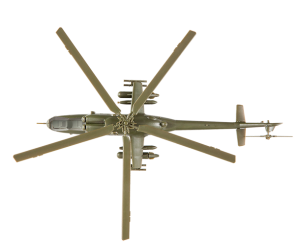 Мі-24В Радянський ударний вертоліт - 7403 Зірка