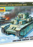 Tanque pesado soviético T-35 - Zvezda 6203