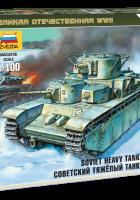 Sovjetiska tunga stridsvagnen T-35 - Zvezda-6203
