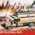 WWI Old Bill Bus Gift Set - Airfix A50163
