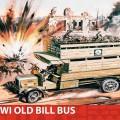 A primeira guerra mundial, Antigo projeto de lei de Ônibus Gift Set - Airfix A50163