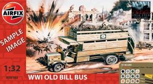 Pirmojo pasaulinio karo Senas Bill Autobusų Dovanų Rinkinys - Airfix A50163