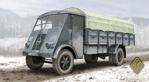 Fransk 5t lastbil AHR - Es-Modeller 72526