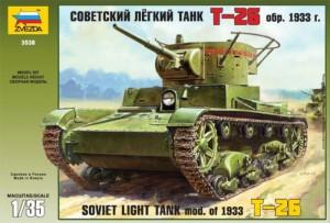 T-26 mod.1933 - Zvezda 3538