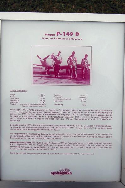 Piaggio P-149D