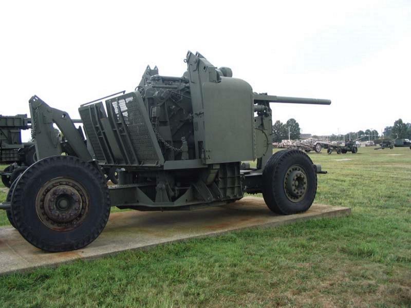90мм нас противовъздушни оръдия м2
