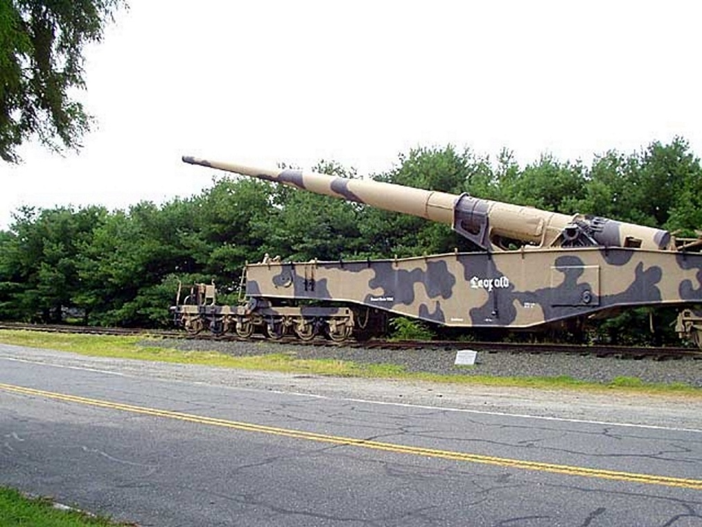 28cm K5(E) Railway Gun Leopold