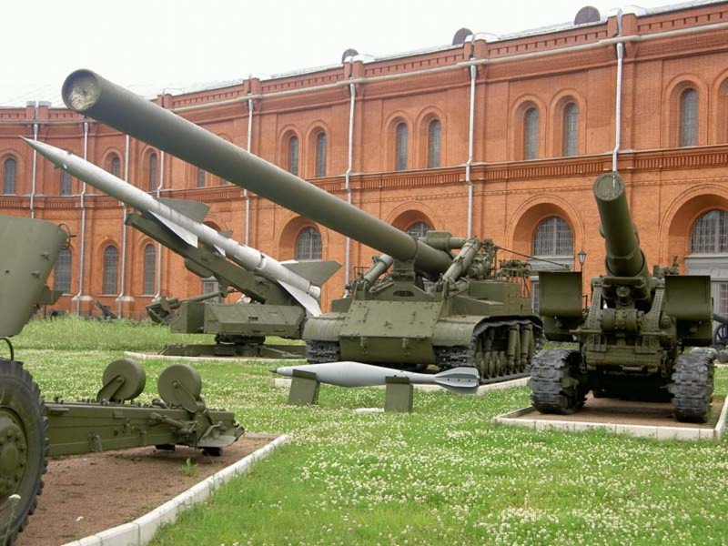 420mm 2B1 Oka Self-Propelled Gun-Mortar