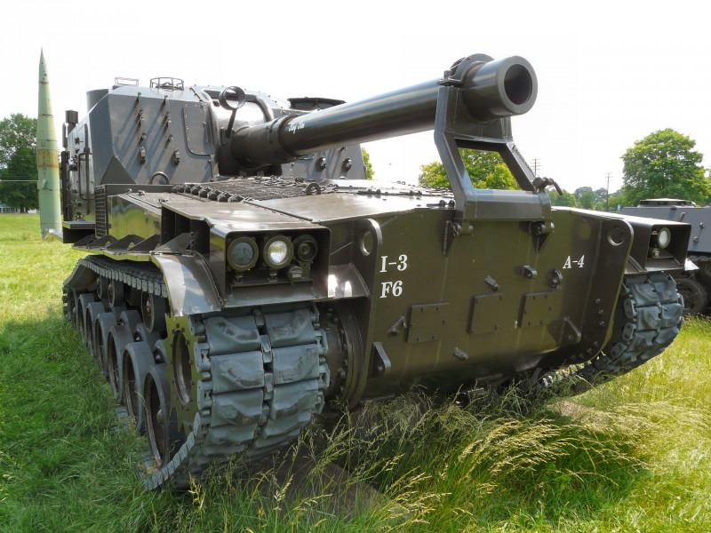 M55 Samohodno Howitzer