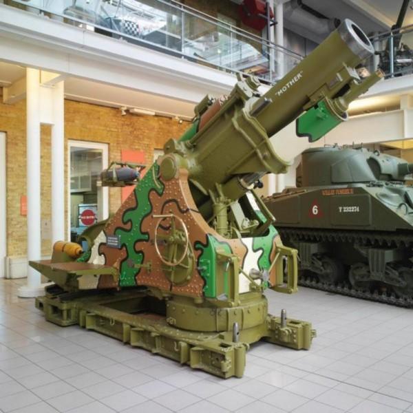 Brytyjski 9.2 calowy moździerz
