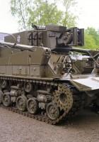 Samochód М74 Odzyskiwania Zbiornik