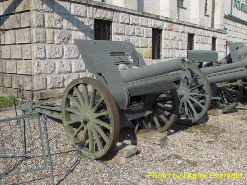 122mm haubitsad on M1910-30