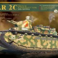 FRANS SUPER HEAVY TANK CHAR 2C - Meng Model