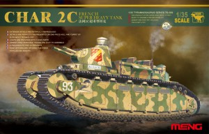 FRENCH SUPER HEAVY TANK CHAR 2C - Meng Model