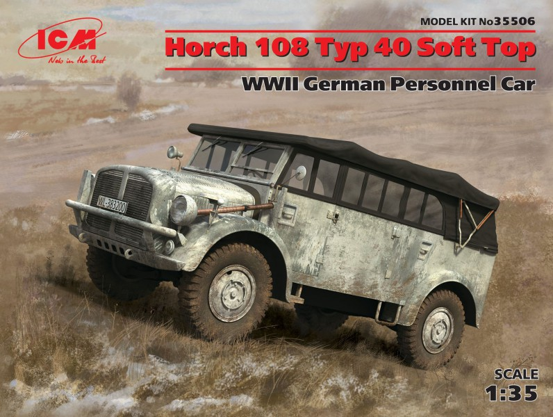 Horch 108 Typ 40 Soft Top-ICM 35478