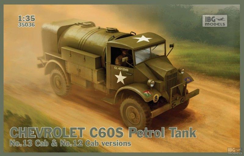 Бензобак Chevrolet C60s-IBG 35036