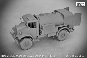 Chevrolet C60S Bensin Tank - IBG 35036